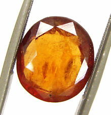 4.65 Ct Certified Natural Hessonite Gomed Loose Gemstone Untreated Stone -103046