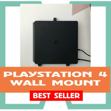 Wall Mount for PlayStation 4 PS4 Slim Game Console, PS4 Wall Bracket, Black