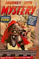 THE MIGHTY THOR OMNIBUS (JOURNEY INTO MYSTERY) VOL.1 BY STAN LEE & JACK KIRBY.