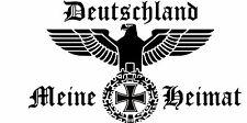 Reichsadler Eisernes Kreuz Deutschland Heckscheiben Auto Aufkleber 20x30 cm  #4