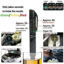 Brake Fluid Liquid Oil Tester Pen 5 LED Indicator Car Testing Tool For-DOT 3 / 4