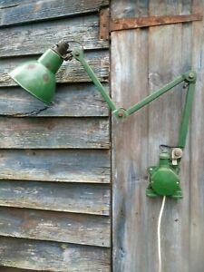 VINTAGE INDUSTRIAL 3 ARM EDL MYFORD MACHINIST WORKSHOP ADJUSTABLE LIGHT LAMP