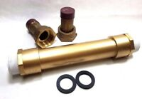 "Water Meter Idler/Spacer Tube for 5/8"" x 3/4"" Meter, WITH 3/4"" meter couplings"