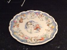".Royal Doulton Snowman Plate ""DANCE OF THE SNOWMAN"" - Excellent Condition."