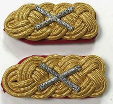 WWII GERMAN HEER FIELD MARSHALL GENERAL OF THE ARMY TUNIC SHOULDER BOARDS