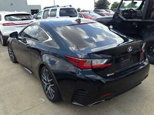 UN-PAINTED primer REAR LIP SPOILER FOR 2015-2019 LEXUS RC 350 - MADE IN USA
