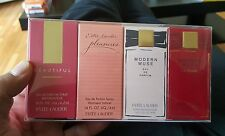 Estee Lauder fragrance  treasures 4PCs Perfume  Set 2015  NIB