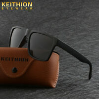 KEITHION Mens Square Frame Polarized Sunglasses Driving Sports Outdoor Eyewear
