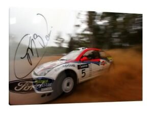 Colin McRae WRC 30x20 Inch Rally Ford Focus Framed Picture