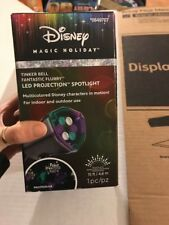 Disney Tinkerbell Fantastic Flurry Projection Spotlight Magic Holiday Christmas