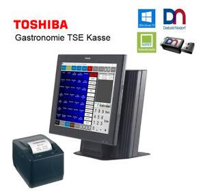 Toshiba All in one Touchscreen Gastro  Kasse mit TSE USB Modul