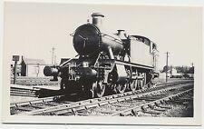 MINT 1938 Real Photo G W R Railroad 2-6-2 Train Aylesbury, Buckinghamshire UK