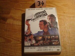 """DVD : L aventure c 'est l 'aventure  """" Lino Ventura  ''"""