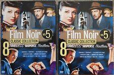 Film Noir Classics Collection, Vol. 5 (DVD, 2010, 4-Disc Set)