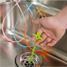 Drain Sink Pipe Unblocker Removal Hair Clog Cleaner Tool Kitchen Bathroom House