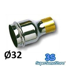 3S GIUNTO A SALDARE PER SIFONE SCARICO ACQUA TUBO IN PIOMBO PER CANOTTO Ø 32 mm