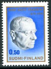 Finland Stamps Scott #502 Pres Paasikivi 1970 Mlh