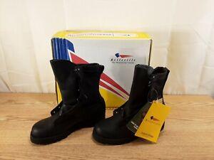 Belleville Combat Infantry Boots Gore-Tex Black Vibram Soles Size 5 R NEW