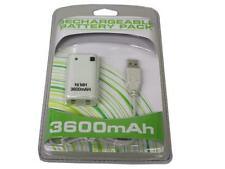 Akku Pack 3600mAh für Xbox 360 (weiß)