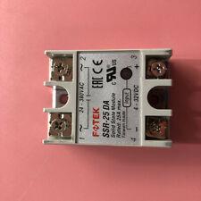1pc New FOTEK Soild State Relay SSR-25DA