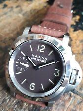 Marina Militare homenaje eta 6497-1 swiss made 45 mm high quality! Coffee hoja
