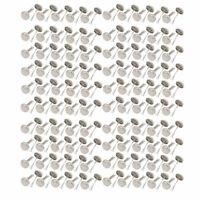 8mmx17mm Iron Round Paper Brad Fasteners for Scrapbooking Craft 500pcs