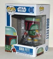 Funko POP Star Wars Boba Fett Bobble Head Figure 08