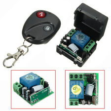 12V DC 1CH Relay Receiver RF Transmitter 433Mhz Wireless Remote Control Switch