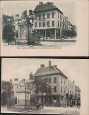 Lichfield. Dr Johnson's House Statue Postcards Variants  Ri.936
