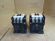 New listing Fuji Electric Contactor 3Nc1Q Sc35Baa Sc-Na 60 A Amp 100V-110V Coil Lot of 2