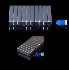 100x Neodym Magnete Quader 14x4x2,5 mm (N50)  NdFeB Magnet  14 x 4 x 2,5 mm