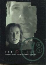 Inkworks The X Files Seasons 6 & 7 Complete 90 Card Base Set