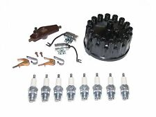 Tune Up Kit & 18mm Plugs 1929-1937 NASH TWIN IGNITION 8cyl with Distributor Cap