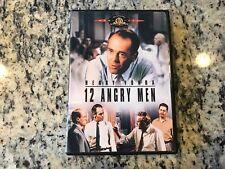12 Angry Men Dvd 1957 Courtroom Legal Crime Drama Classic Henry Fonda, Ed Begley