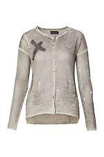 Damen-Pullover & Mittel mit Rundhals und Knöpfe