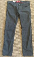 Hugo Boss Red Label Slim Fit Black Jeans 708 EUC!!
