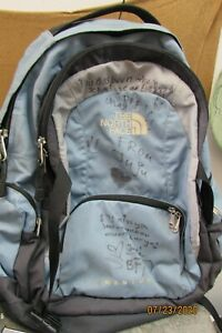 THE NORTH FACE MENTOR BOOKBAG PREOWNED / WRITTEN ON SEE PICTURES