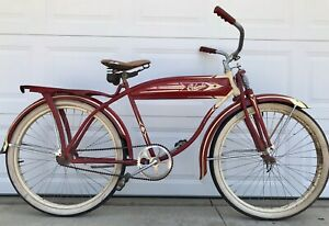 *** VINTAGE COLUMBIA DELUXE BICYCLE, OLD ANTIQUE BIKE ***