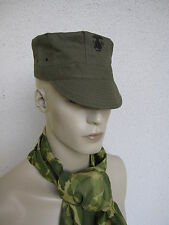 US Army USMC MARINE CORPS Green HBT Utility CAP wk2 WWII Taglia 58 Marines Pacific