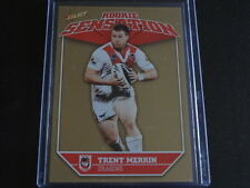 NRL Champions 2011 ST GEORGE DRAGONS ROOKIE SENSATION Card TRENT MERRIN Select