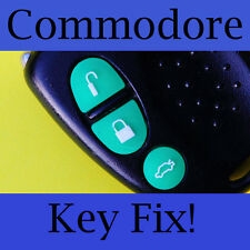Holden Commodore Key Buttons VS VT VX VY VZ Green Set