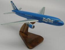 Boeing B-767 Zoom Airlines Airplane Wood Model Regular