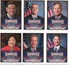 2020 DECISION SERIES 2 SHORT PRINT 6 BASE CARD LOT-ALL SHORTPRINTED CARDS SP