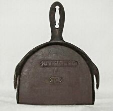 Mystery Cast Iron Fireplace Tool (SCOOP?) Patented March 16 1880 Marked CJ43