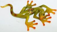 Marble Coloured Design Lizard Glass Look Happy Carefree Nicely detail 21cm High