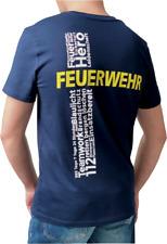 """Feuerwehr Herren T-Shirt """"SCHLAGwort"""" Feuerwehrmann"""