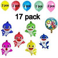 Baby Shark Balloons / Latex Balloons Party Decor Foil Balloons Birthday Party