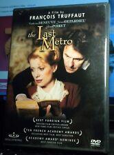 THE LAST METRO DVD Catherine Deneuve Gerard Depardieu Truffaut, SHIPS FREE!