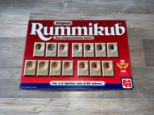 Rummikub Original Jumbo 03466; Spiel des Jahres 1980 Vollständig Top Zustand
