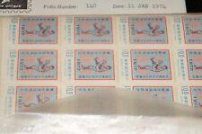 CHINA TAIWAN Sc#1787-90 1972 Baseball Champ, Little & Senior Leagues MNH 4 x 40